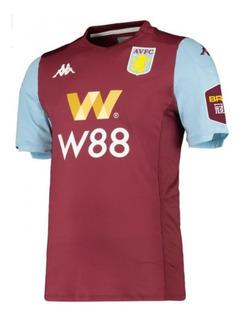 Camisa Aston Villa Uniforme 1 Novas Pronta Entrega