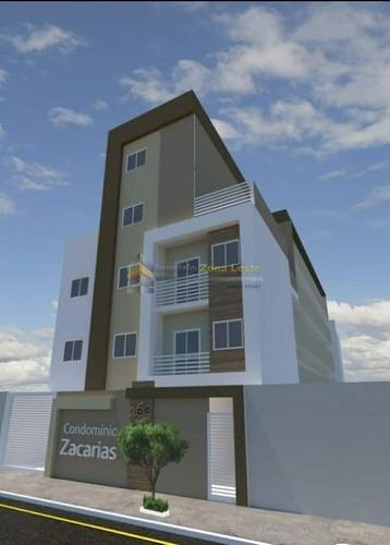 Apartamento Em Condomínio Studio Para Venda No Bairro Vila Ré, 2 Dorm, 1 Vagas, 49 M - 4646