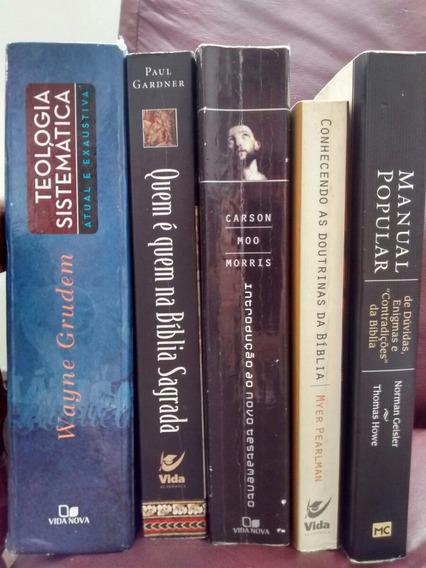 Livros Teológicos Pacote 250$