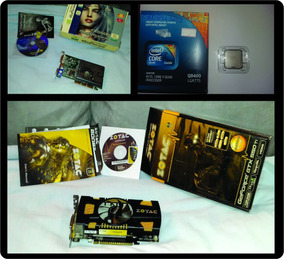 Kit Gamer / Placa De Video Gtx 550ti + Core 2quad + Brinde!