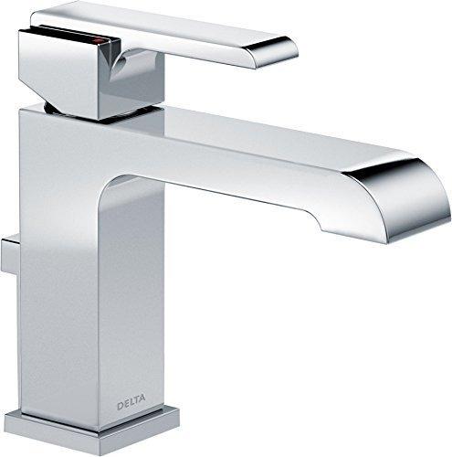 Delta Faucet Delta Ara Llave De Lavabo Con Un Solo Agujero C