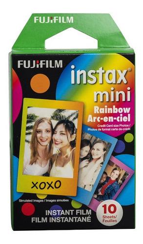 Imagen 1 de 10 de Fujifilm Cartucho Fuji Instax Mini Rainbow 10 Hojas