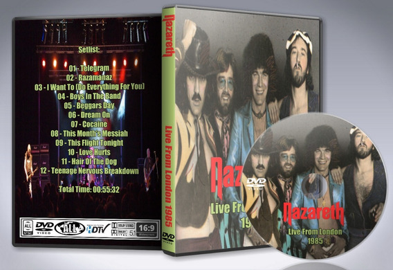 Dvd Nazareth - Live From London 1985