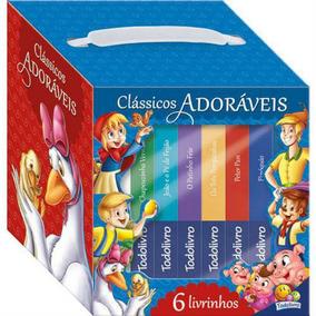 Livro Classicos Adoraveis Kit Com 06 Todo Livro
