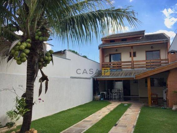 Casa Com 3 Dormitórios À Venda, 123 M² Por R$ 430.000,00 - Parque Novo Mundo - Americana/sp - Ca0636
