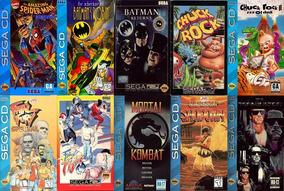 Lote 13 Jogos De Sega Cd A Escolha