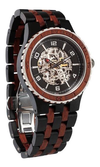 Relógio Wilds Wood Premium Automático Importado E.u.a