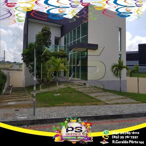 Casa Com 4 Suítes À Venda Por R$ 1.200.000 - Centro - Campina Grande/pb - Ca0415