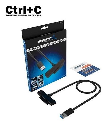 Cable Convertidor Sata A Usb 3.0 Sabrent (25$)