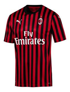 Camisa Milan Home (19-20) Nova Pronta Entrega