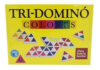 Tri-dominó Colores Plásticas Entretenimiento Juego De Mesa