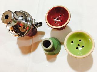 Tapas Cazoleta De Narguil Repuesto Pipa De Agua Yiya