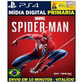 Jogo Marvel Spider Man - Homem Aranha - Spiderman Ps4 - 1