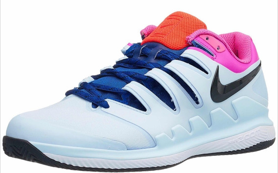 Zapatilla Nike Vapor Tour X Clay Blue/fucsia 2019