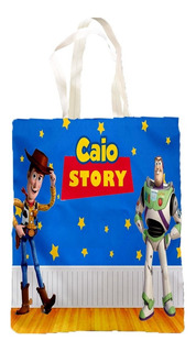 30 Sacolas Personalizada Para Lembrancinha Toy Story