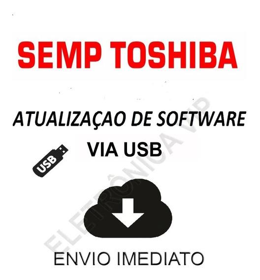 Atualização De Software Para Tv Sti Semp Toshiba Dl3954(a)f