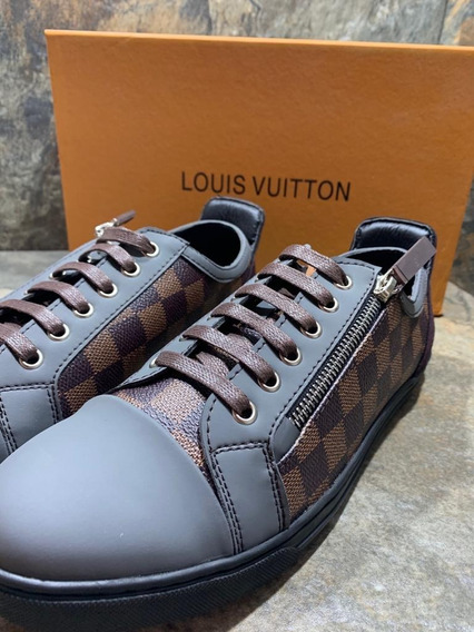Sneakers Louis Vuitton Clásicos Damier. Envío Gratis