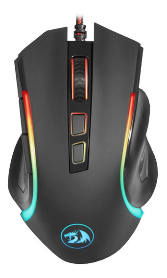 Mouse Gamer Redragon M607 Griffin Luces Usb Pc 2