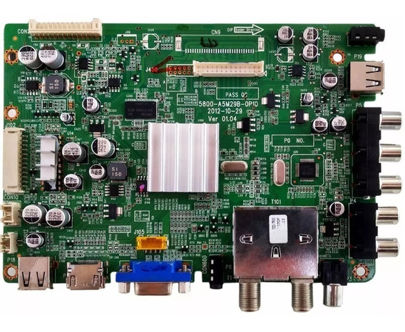 Placa Principal Ph29e63d Versão A Philco 5800-a5m29b-op10