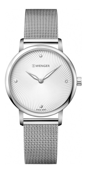 Relógio De Pulso Suíco Feminino Urban Donnissima 35mm Wenger