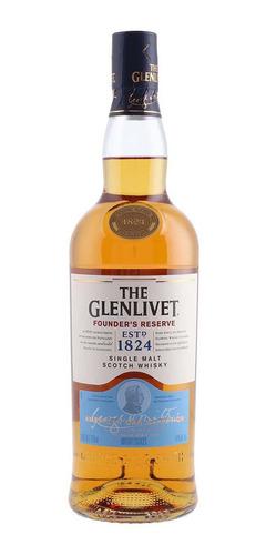 Imagen 1 de 1 de Botella De Whisky The Glenlivet Founder`s Reserve 750ml