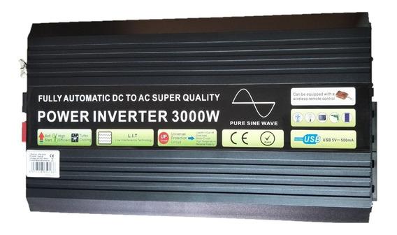 Inversor Off Grid Onda Pura 3000w