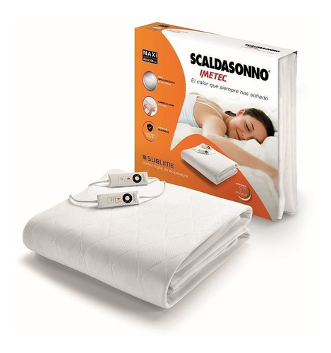 Calientacama Scaldasonno Sublime Maxi Superking 200x200 Cm