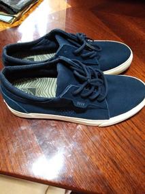 Zapatos Reef Azules Como Nuevos Poco Uso Talla 8
