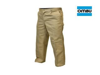 Pantalon Ombu De Trabajo Homologado Grafa Talle 38 Al 56