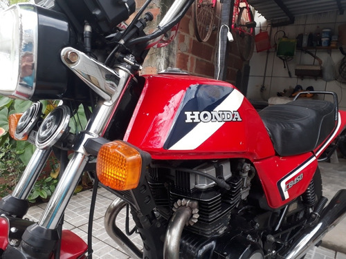 Imagem 1 de 7 de Honda Cb 450