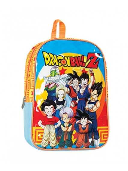 Mochila Dragon Ball Z Espalda 13 Pvc- Original