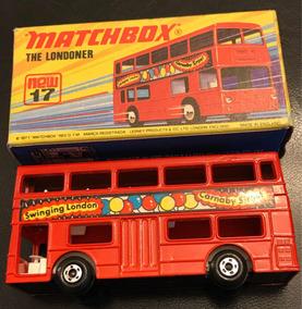Ônibus The Londoner Matchbox Lesney N.17 - Impecável !!