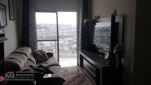Apartamento Com 2 Dormitórios À Venda, 51 M² Por R$ 235.000,00 - São Miguel Paulista - São Paulo/sp - Ap2294