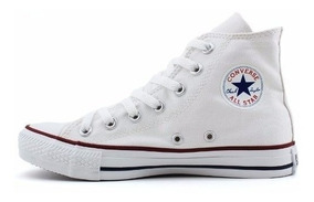 Tênis Converse All Star Core Bota Branco , Adulto Infantil