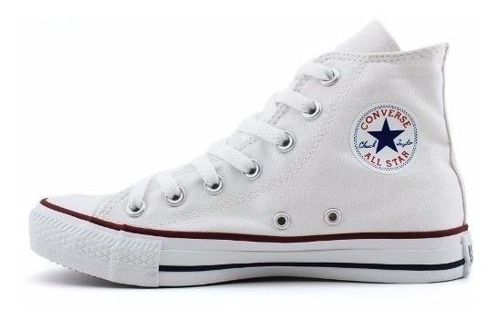 Tênis Converse All Star Core Bota Branco , Adulto Infantil