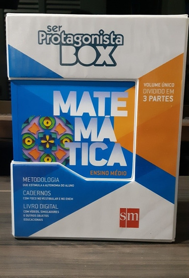 Ser Protagonista Box: Matemática-volume Único-ensino Médio