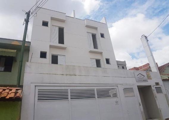 Cobertura Com 2 Dormitórios À Venda, 80 M² Por R$ 258.000,00 - Vila Pires - Santo André/sp - Co0565