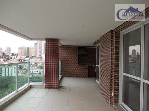 Imagem 1 de 30 de Apartamento Com 3 Suítes À Venda, 194 M² Por R$ 1.565.000 - Jardim - Santo André/sp - Ap2401