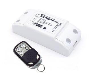 Sonoff Rf Y Wifi Domotica Rele + Control Casa Inteligente