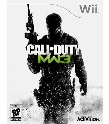 Jogo Lacrado Call Of Duty Modern Warfare 3 Nintendo Wii