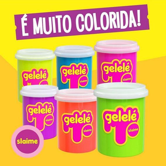 Slime Gelele 152g Com Cheiro De Fruta - 12 Unidades