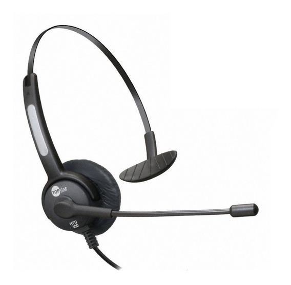 Headset P2 P/ Celular C/ Cancelador De Ruído Mod. Htu-300