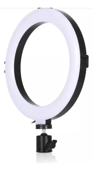 Ringh Light Circular Maquiagem Fotografia + Mini Tripé