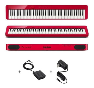 Piano Digital Casio Privia Px-s1000 Rd Pxs1000 Rojo Envio