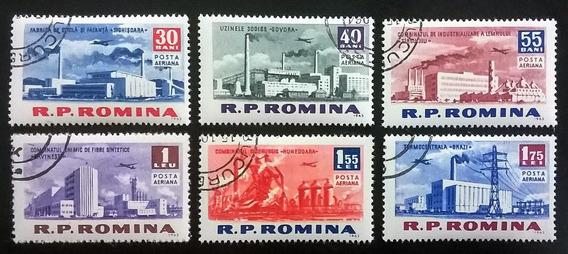 Rumania Aviones, Serie Sc. C129-34 Industria 63 Usada L10912