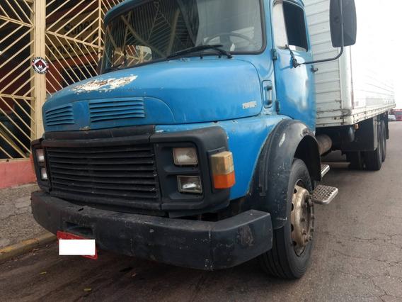 Mb 1113 81/81 Truck Baú 8,5m - R$ 32.000