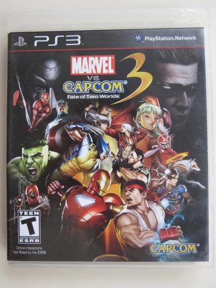 Marvel Vs. Capcom 3: Fate Of Two Worlds Ps3 - M.física Usado