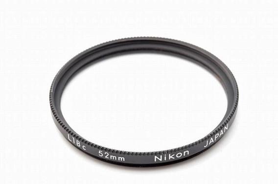 Filtro Nikon L1bc 52mm (made In Japan - Impecável)