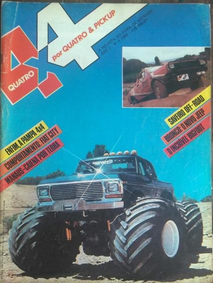 Revista 4x4 Nº4 1983 Poster: Saveiro