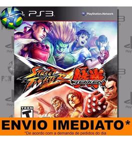 Jogo Street Fighter X Tekken Ps3 Digital Psn Envio Imediato